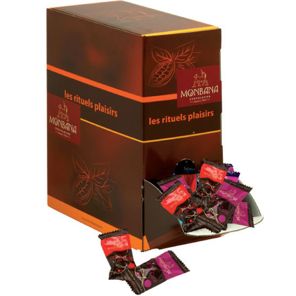 200 grains de caf enrob s de chocolat monbana pour. Black Bedroom Furniture Sets. Home Design Ideas